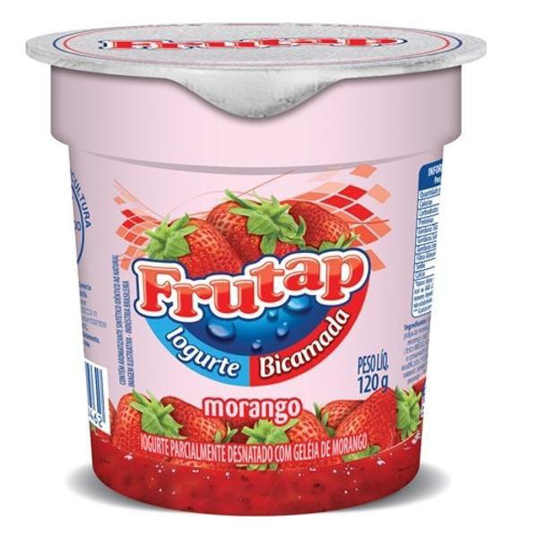 Iogurte bi camada morango