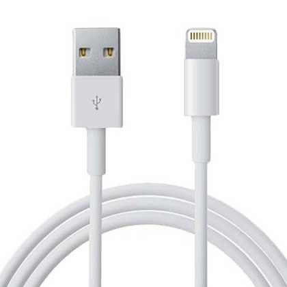 Cable Blanco iPhone 1 Unidad