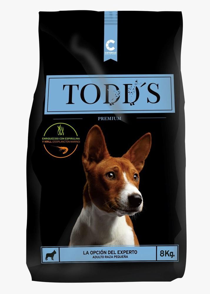 Todd's adulto raza hasta 15 kg
