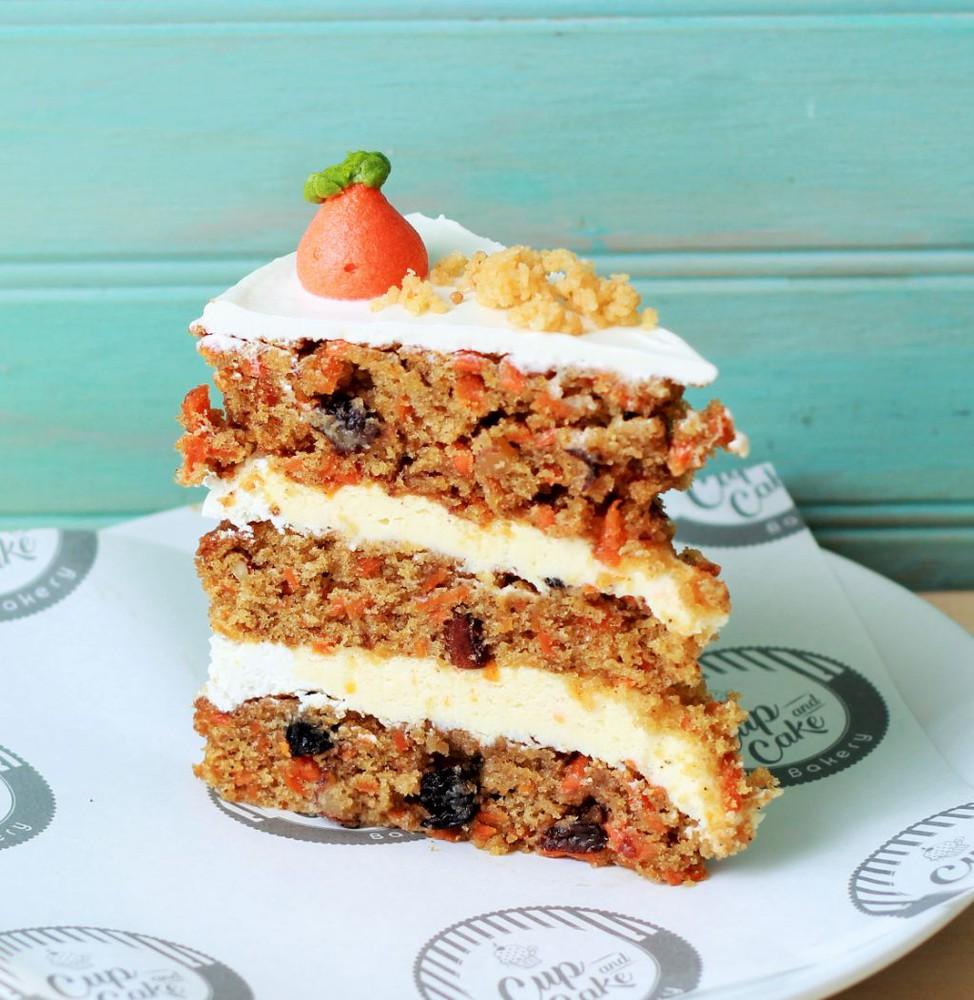 Torta Zanahoria Trozo (1 persona)