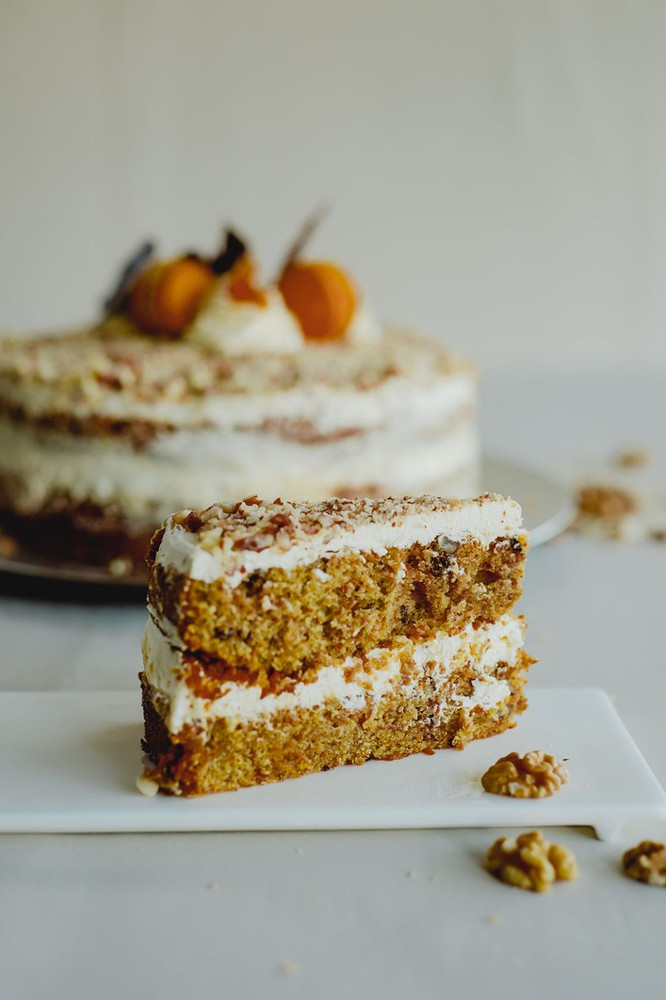 Carrot cake - 20 porciones -