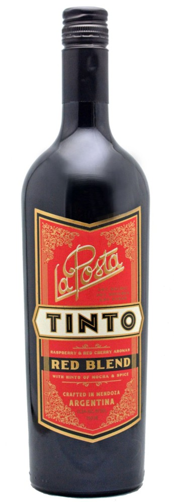 Vino tinto red blend