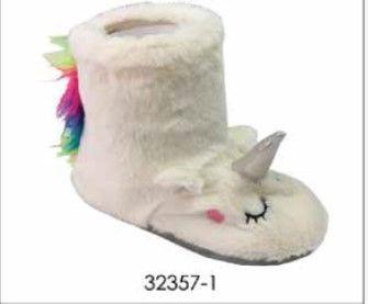 Botin unicornio 32357 33-34 blanco