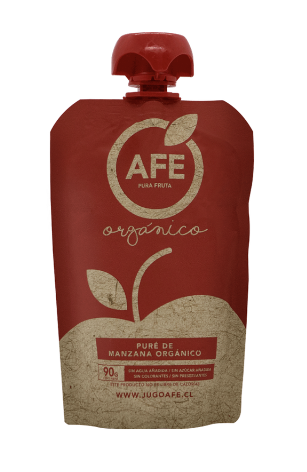Puré de manzana orgánico