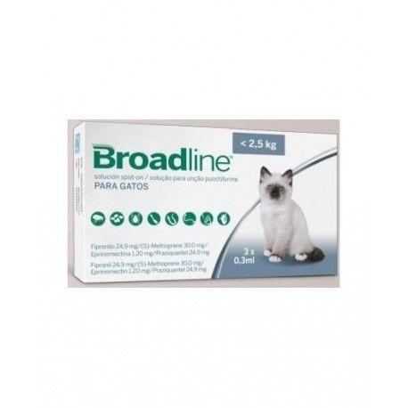 Broadline gatos de 0,6 a 2,5 kg