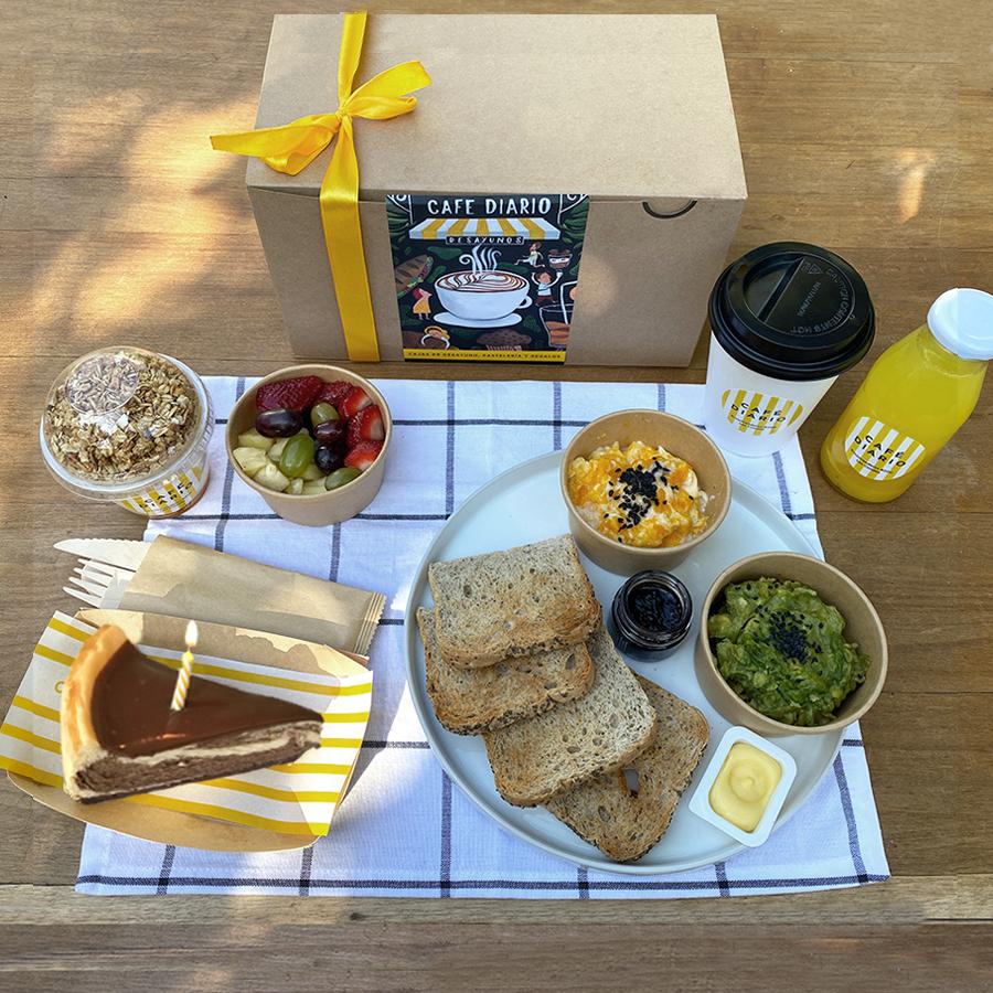 Caja de desayuno de Cumpleaños! 1 un