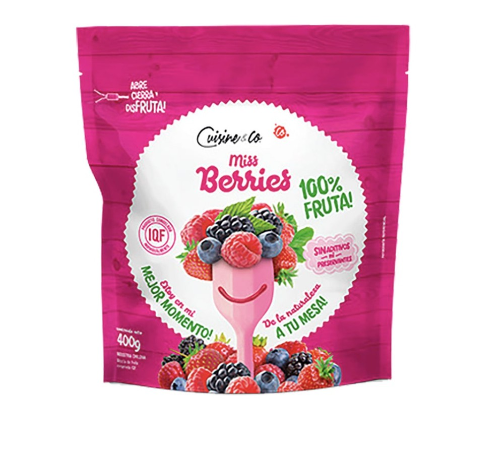 Mix berries congeladas