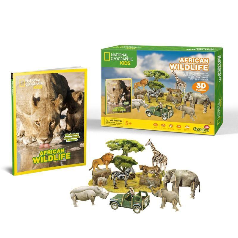 Puzzle natgeo fauna africana