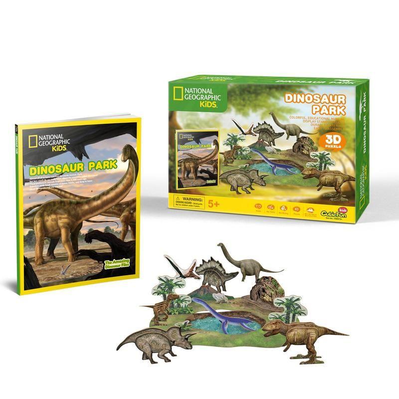 Puzzle natgeo dinosaurio