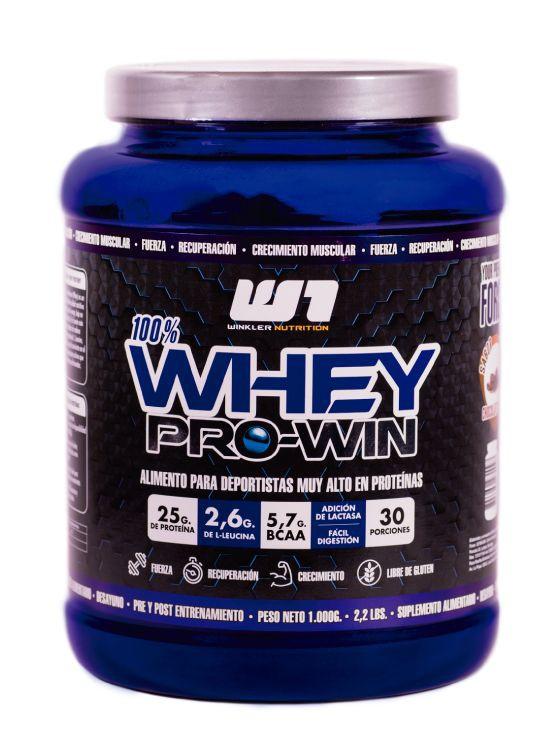 Proteina whey pro win capuccino 30 servicios