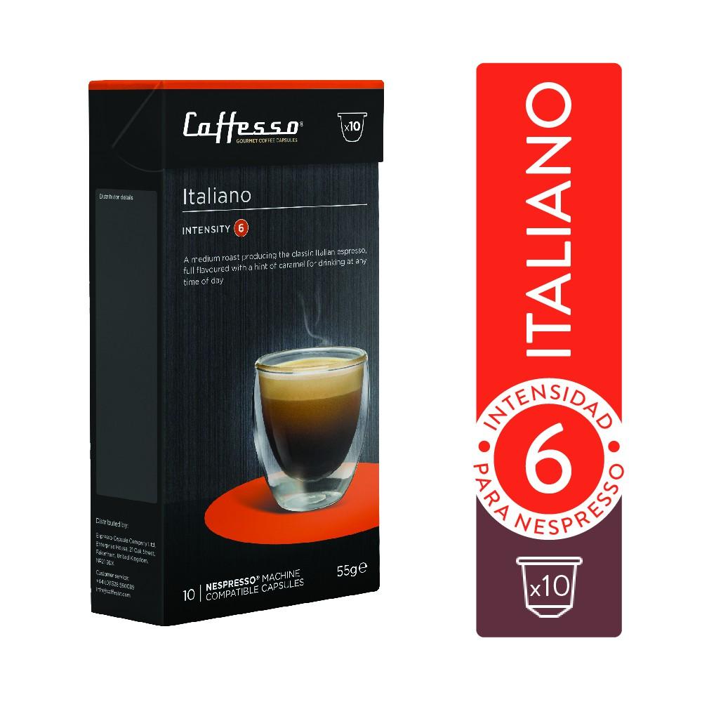 Cápsulas Nespresso italiano