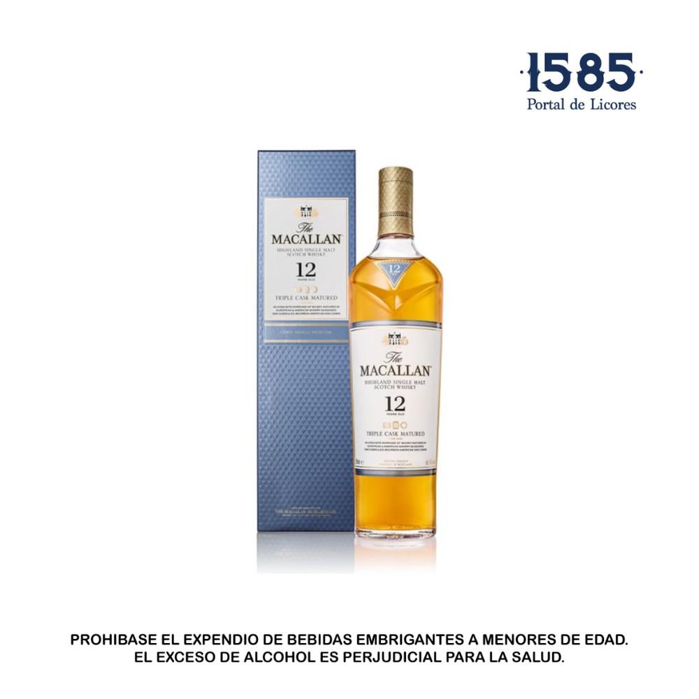 Whisky Macallan Triple Cask 12 Años 700mL