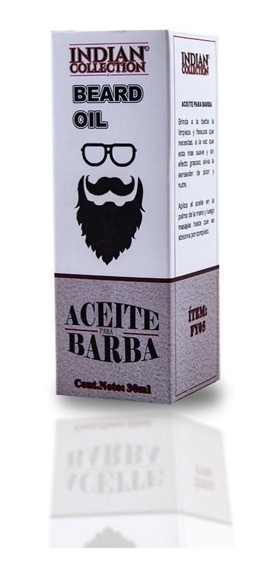 Aceite par barba