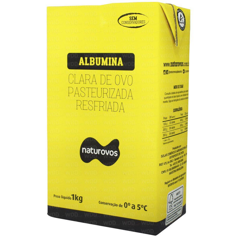 Albumina pasteurizada resfriada