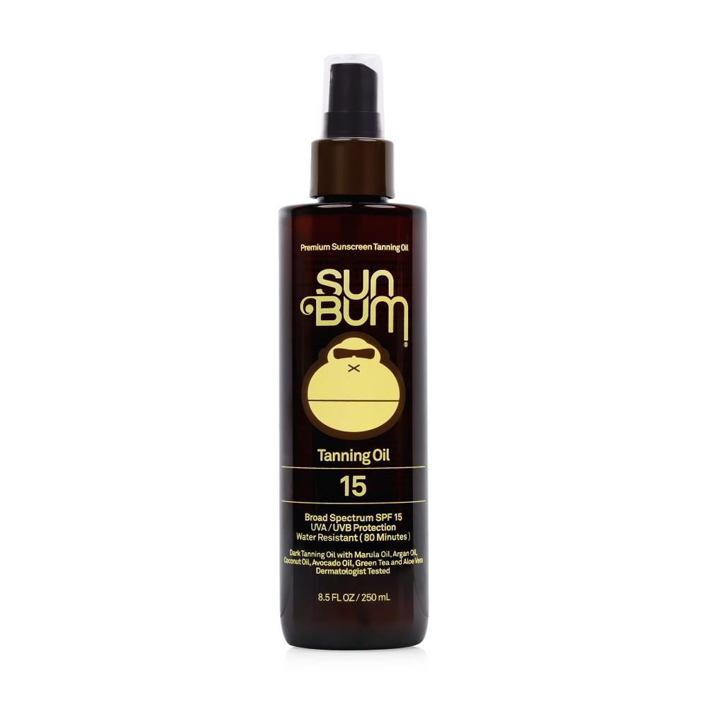 Tanning oil SPF 15