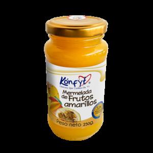 Mermelada de frutos amarillos Frasco x 250gr