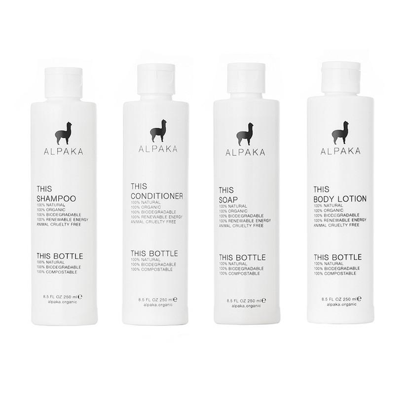 Set para regalo alpaka organic full bath Botellas 250ml