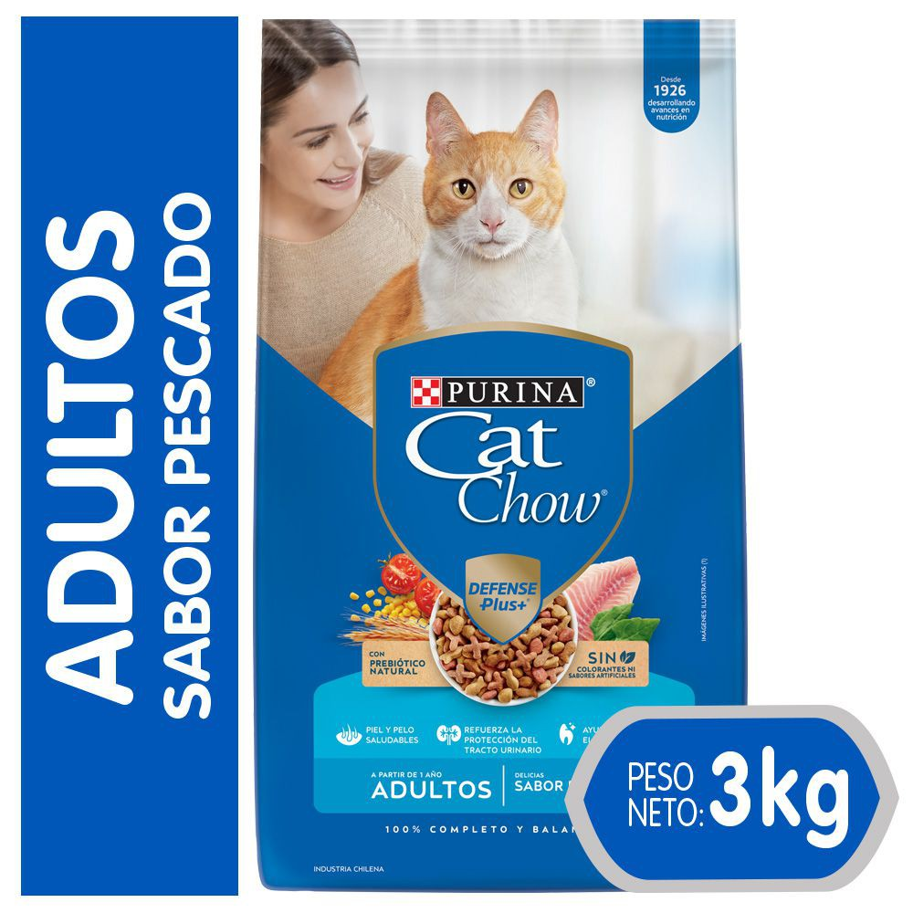 Alimento gato adulto pescado