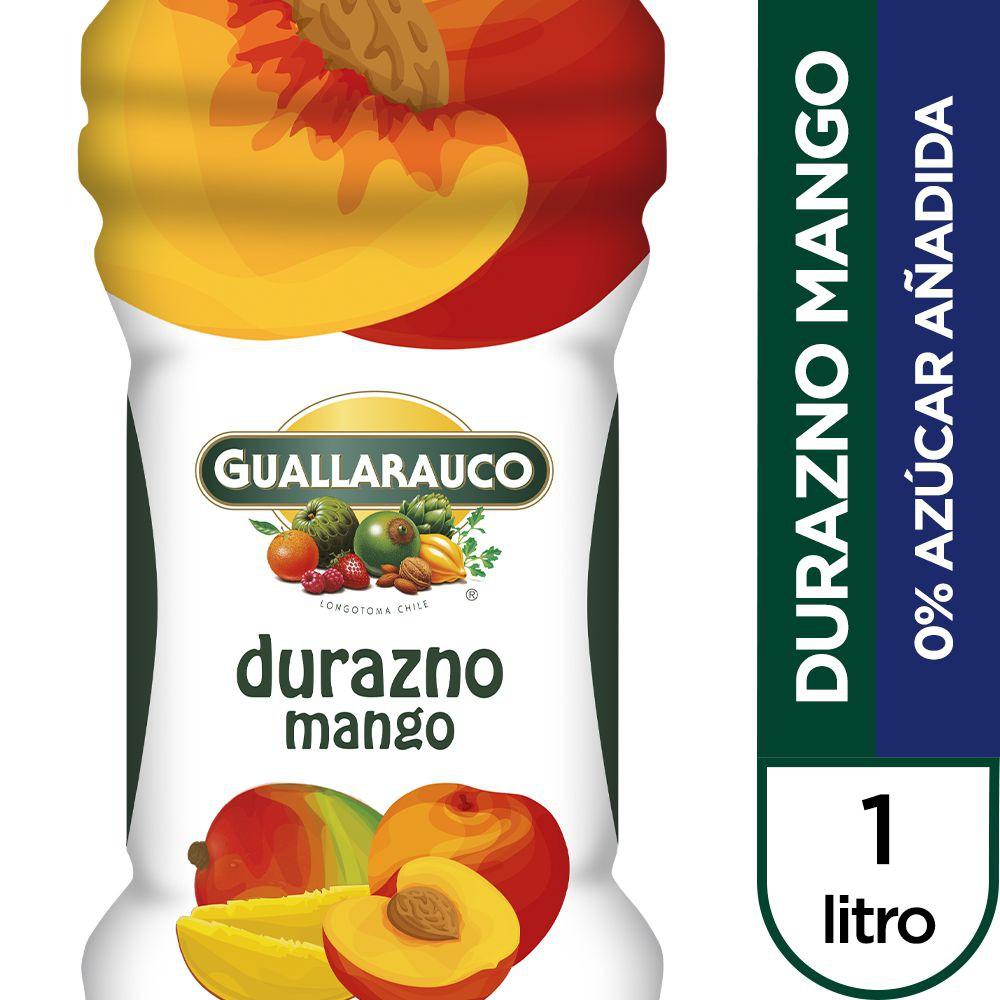 Jugo durazno mango