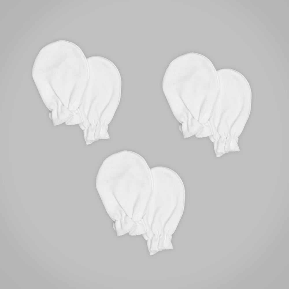 Miton tripack clasico blanco talla única