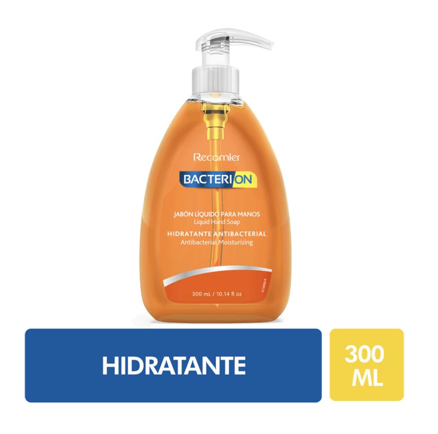 Jabón líquido antibacterial hidratante