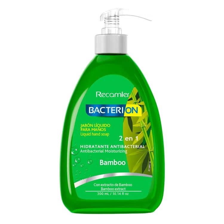 Jabón líquido antibacterial con bambú