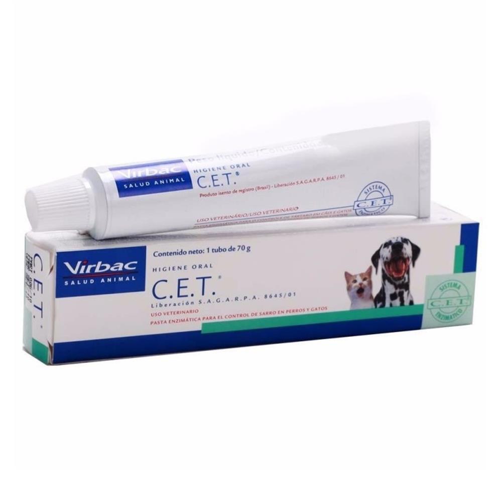 Creme dental C.E.T. para cães e gatos 70g