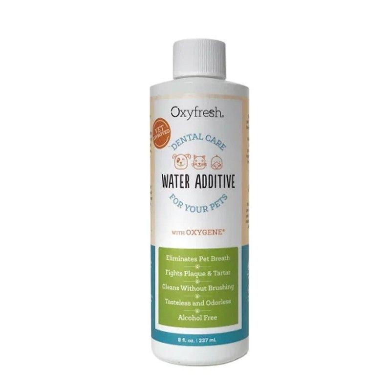 Oxyfresh aditivo para agua cuidado dental de mascotas 273ml