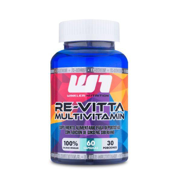 Multi vitamínico re-vitta 60 cápsulas