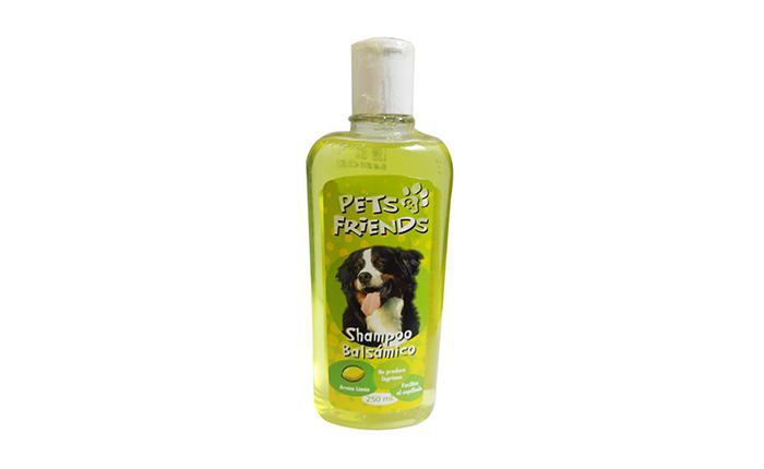 Shampoo balsámico aroma limón