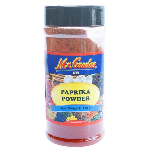 Paprika powder 215g