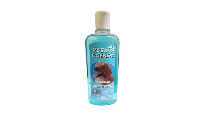 Shampoo hipoalergenico aroma coco