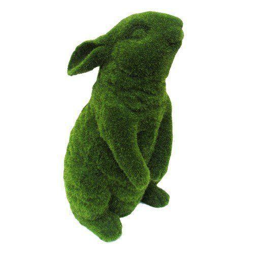 Conejo decorativo grande pasto artificial 2kg
