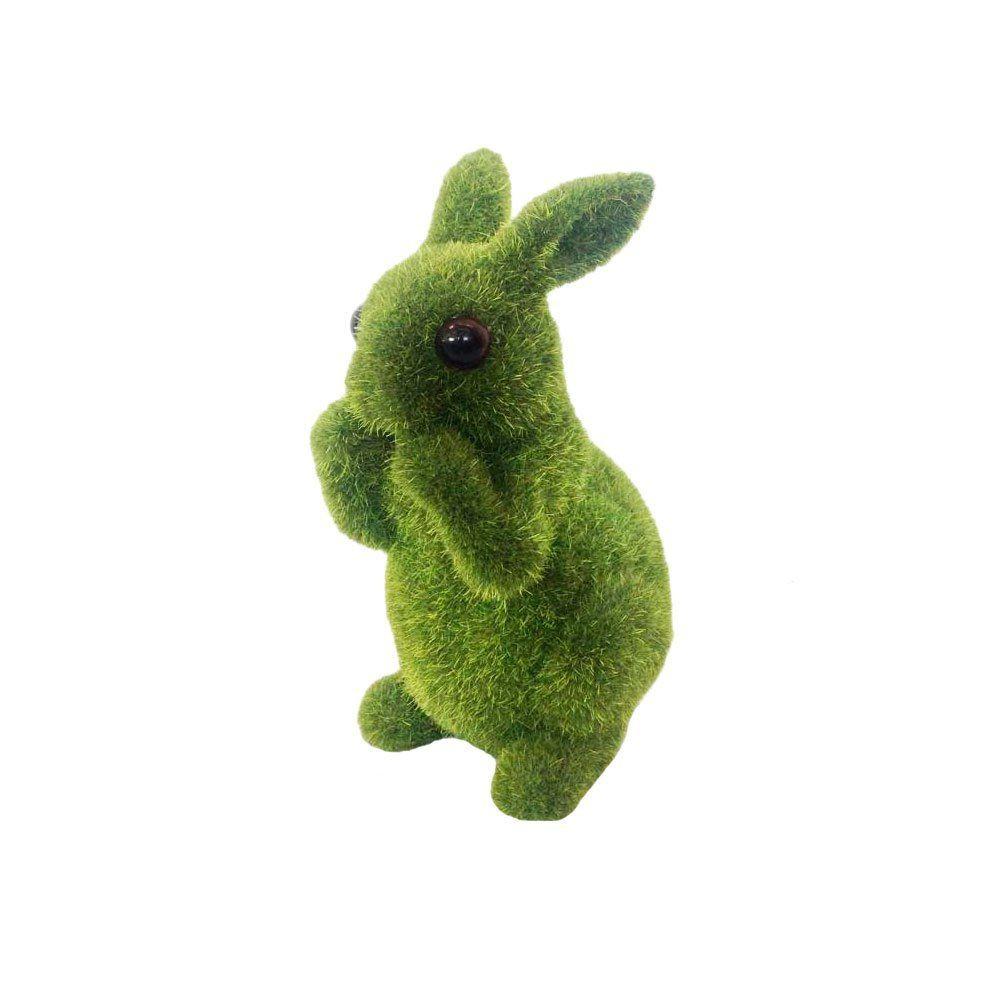 Conejo decorativo sentado Pasto artificial 1kg