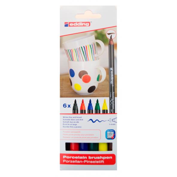 Marcadores porcelana colores básicos