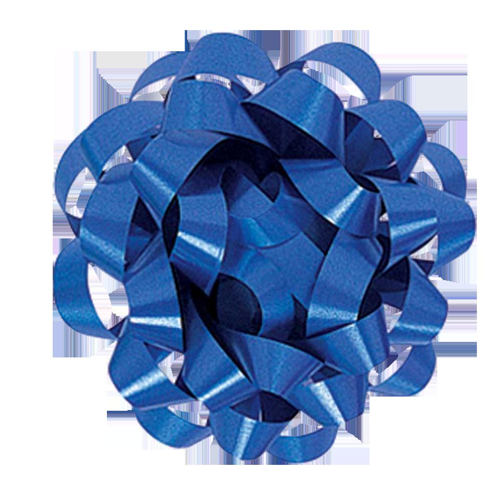 Cinta regalo mediana  - azul real