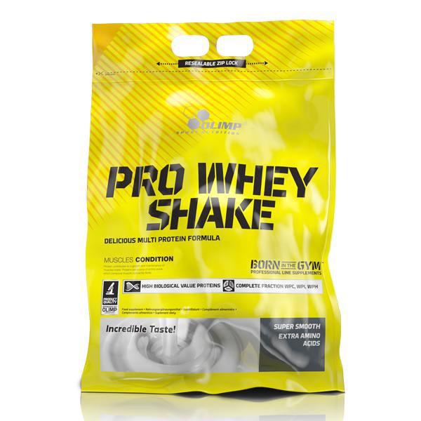 Pro whey shake Strawberry Bolsa de 700 Grs
