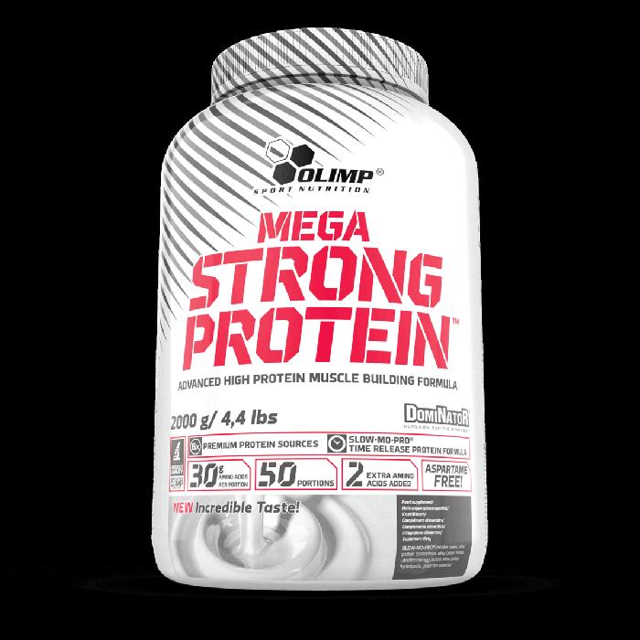 Mega strong protein vainilla Tarro de 2000 grs