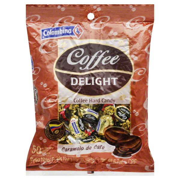 Coffee Delight Hard Candy 50 ct