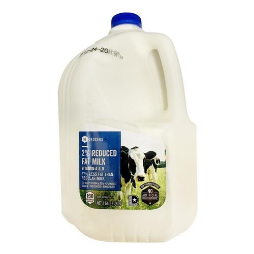 2% Reduced Fat Milk 1 gal