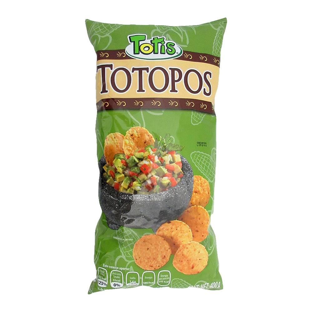 Totopos con sal
