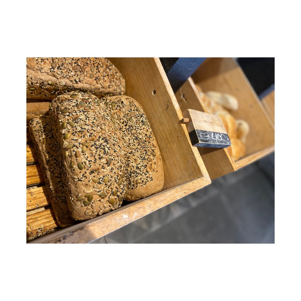 Pan molde integral con semilla 650g