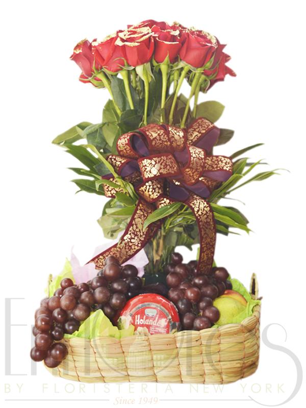 Navidad en frutas