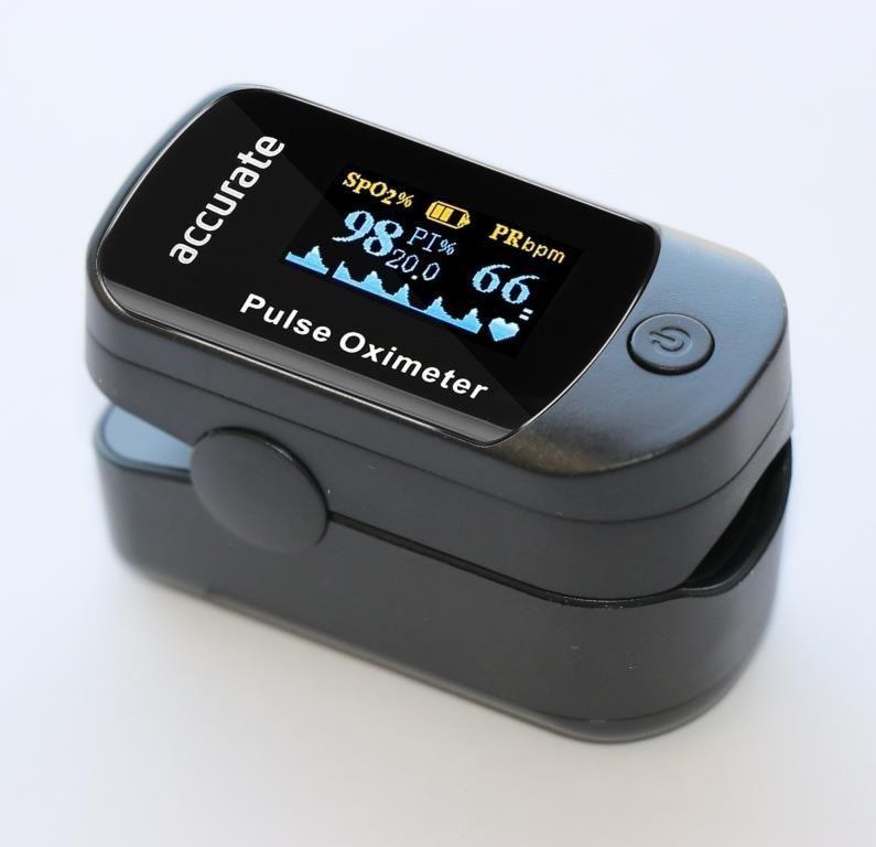 Oxímetro de pulso / saturómetro