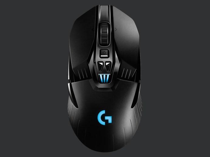 Mouse gamer logitech g903 hero wireless 13 x 7 x 4 cm, 135g