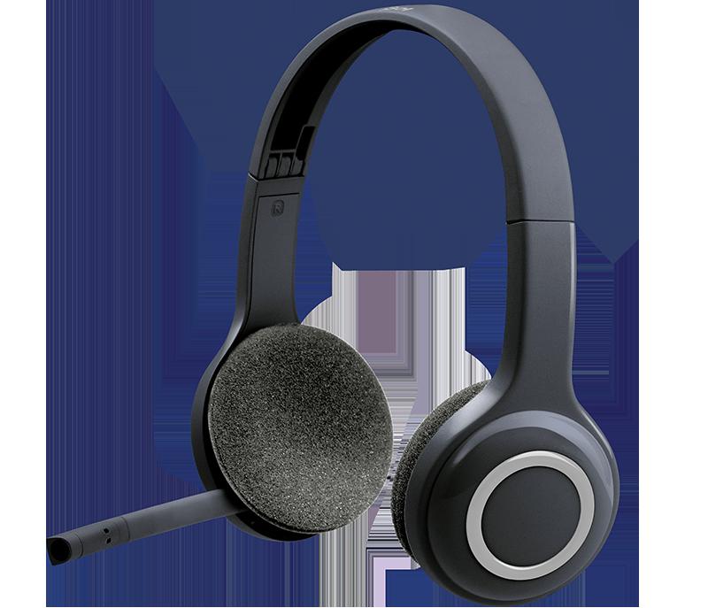 Headset inalámbrico logitec h600 180 x 215 x 78 mm , 0,105 kg