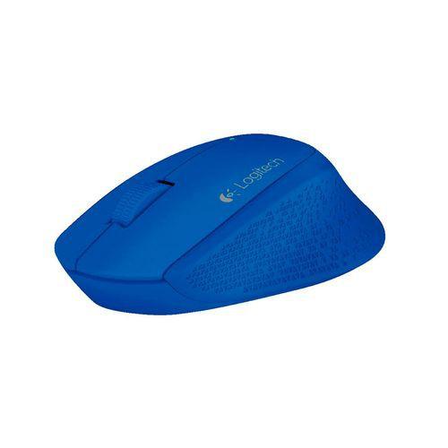 Mouse inalámbrico logitech m280 azul 5 x 10 x 4, 135g
