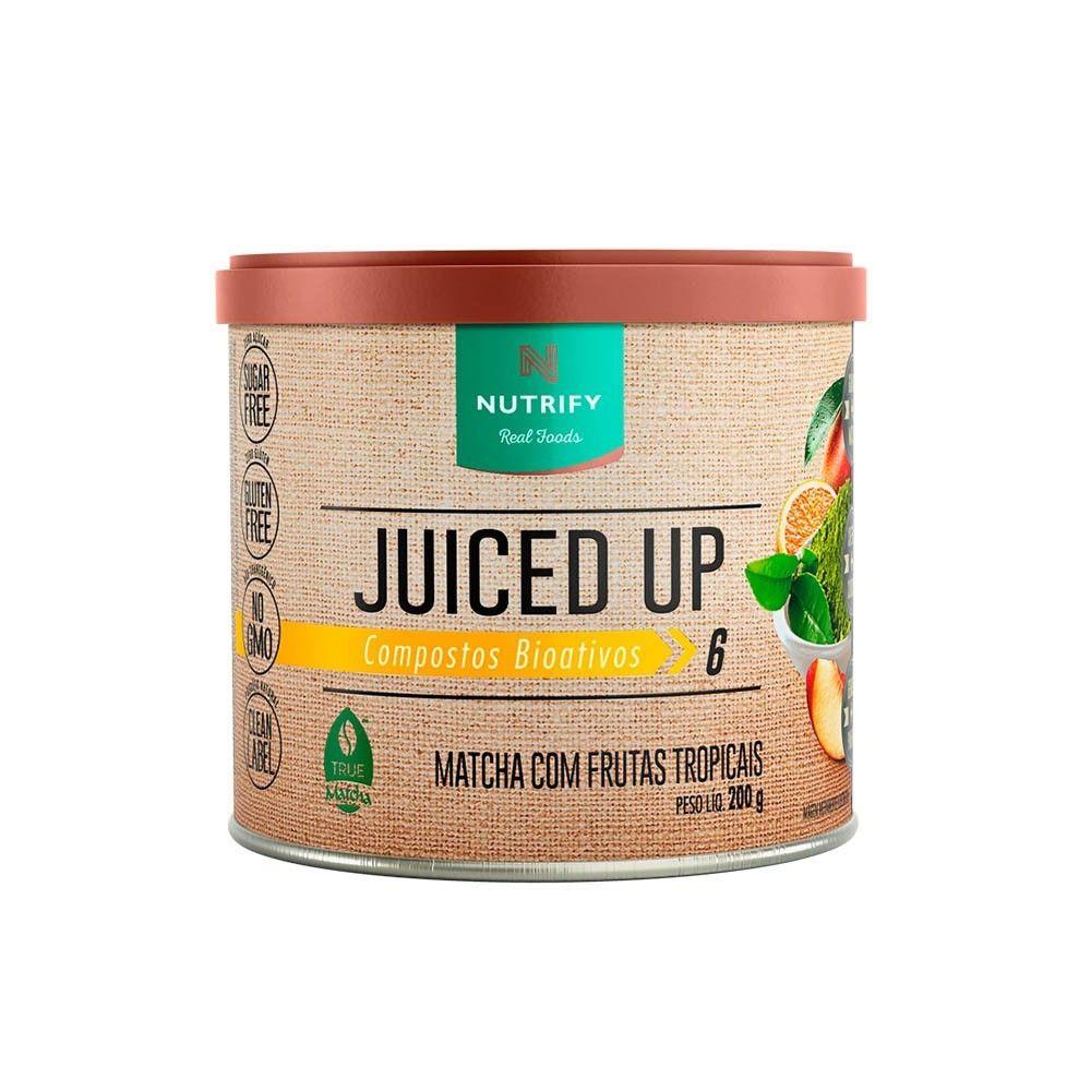 Juiced up matchá frutas tropicais