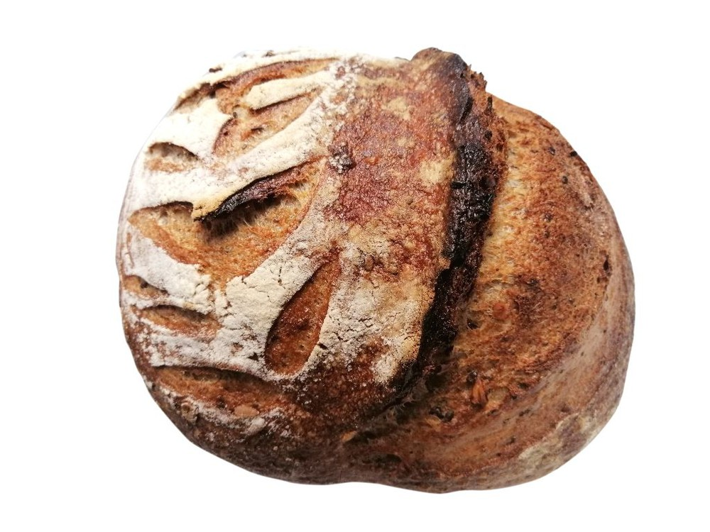 Pan multigrano masa madre 1 kg