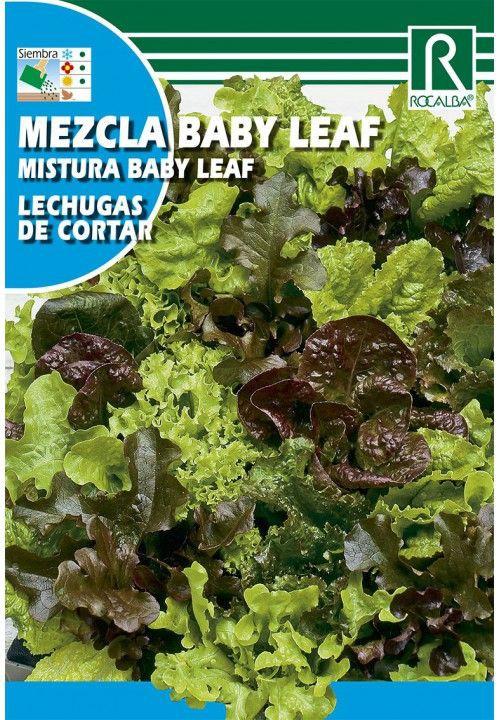 Mezcla baby leaf lechuga de corte Sobre 4 gr